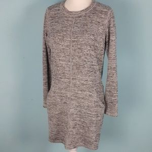 Athleta small athletic dress knit Pockets cozy